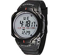 SYNOKE Men's Watch Sports Digital Waterproof Wristwatch with Alarm Clock Stopwatch LED Wrist Watch Cool Watch Unique Watch