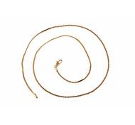 novo ouro 18k moda quente venda de unisex colar banhado concisa