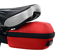 INBIKE Red 1680D Portable Hard Shell Saddle Bag