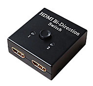 HDMI V1.4 1X2 HDMI Switch(1 in 2 out) Support 1080P