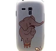 The Elephant Benben Pattern Hard Plastic Case for Samsung Galaxy S3 mini I8190
