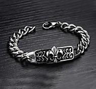 Z&X®  Men's Fashion Personality Charm Titanium Steel Bracelet