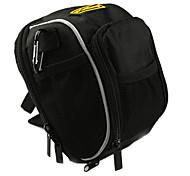 coolchange 600d de alta qualidade saco de ciclismo alça preta com capa de chuva