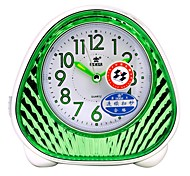 "POWER™ 4.7""H Creative Fashion Style Night-light Snooze  Super Mute Alarm Clock"