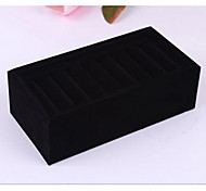 Jewelry Boxes Acrylic / Flannelette / Paper Rose / Black / Gray