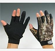 breve 3 dita camuffamento pesca caccia guanti antiscivolo per la taglia xxl