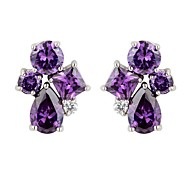 Stud Earrings Couples'/Kid's/Women's Cubic Zirconia Earring Cubic Zirconia