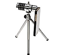 12X Mobile Telephone Lens Telescope Camera+Telescopic Tripod for iphone 5 5c 5s