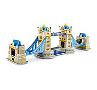 The London Bridge Pattern 3D Puzzles DIY Toys for Children and Adult Jigsaw Puzzle(33PCS)