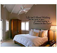 Wall Stickers Life Words Quotes Home Decoration JiuBai™ Wall Decal