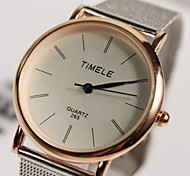 Men's Fashion Simple Mesh Belt Watches