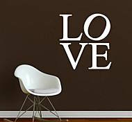 jiubai ™ decoración de la pared etiqueta de la pared calcomanía amor casa, 53cm * 57cm