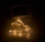 copo xinyuanyang® forma 0.8w 20 a 0603 SMD 100lm llevó blanco caliente luz de la secuencia flexible (3 x 200cm aa /)