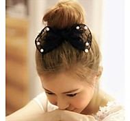 Lovely Super large Pearl Bowknot Hairpins Barrettes Random Delivery