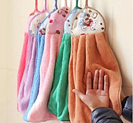 """Thickened Superabsorbent Oil Free Kitchen Dishcloth Towel 17.7""""X13"""" Random Colors"""