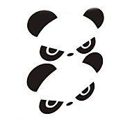 Personality Panda Car Rearview Mirror Sticker (2PC)