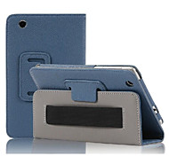 7'' Litchi Pattern Full Body Case with PU Leather for Lenovo S5000 Tablet pc Cover