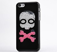LUXURY Rhinestone Skull Back Cover Case for iPhone 4/4S(Assorted Colors)