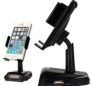 Smart Stand Car Holder In-car Handfree and FM Transmitter Function for iPhone Samsung HTC Nokia and Other