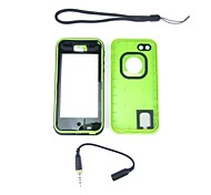 New Waterproof Shockproof Dirtproof Snowproof Protection Case Cover for iPhone 5C Green