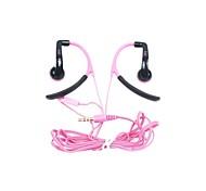 deportes en-042 de 3,5 mm para auriculares con gancho para el teléfono móvil (colores surtidos)