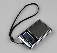 Matchbox Shape Mini Electronic Scales 100g/0.01g,Stainless steel 7.5x4.2x2cm