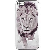 Lion Design Aluminium Hard Case for iPhone 4/4S