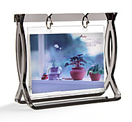 Acrylic Plastic and Organic Glass Photo Frame 6""