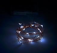 xinyuanyang® 0.8w 100lm 20 x SMD 0603 LED blanco luz de la secuencia flexibles - (3 x 200cm aa /)