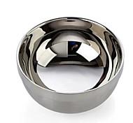Ciotola emisferica in acciaio inox