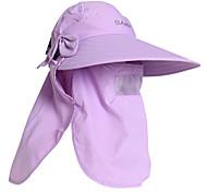 PGM Women's Nylon+Breathable Mesh Light Purple Sunproof Anti-UV Golf Sunhat