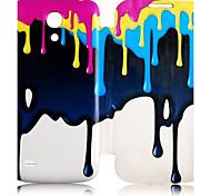 goteo patrón pintura caso de cuerpo completo para mini i9190 samsung galaxy s4