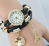 Women's Fashion Crystal Pendant Bracelet Watch(Assorted Colors)