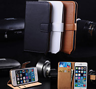 Wallet Card Holder PU Leather Case for iPhone 4/4S