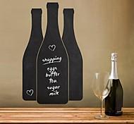 JiuBai™ Bottle Pattern Blackboard Wall Sticker Wall Decal