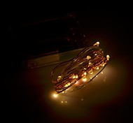xinyuanyang® en forma de flor 100lm 0.8w 3500k 20 x SMD 0603 llevó blanco caliente luz de la secuencia flexibles - (3 x AA / 200cm)