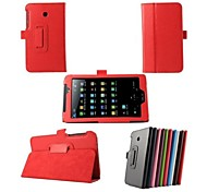 7 Inch Lichee Pattern Stand Case for ASUS  FonePad 7 FE170CG (Assorted Colors)