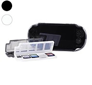 10 in 1 Game Memory Card Holder Case Storage Box for PSV PS Vita
