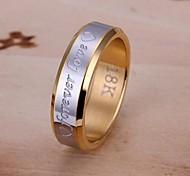 siempre el amor anillo de acero de lureme®men