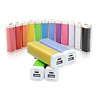 1500mAh Concise Designed Portable Power Bank External Battery  for iPhone Samsung (Random Color,Whole Sale ,10pcs)