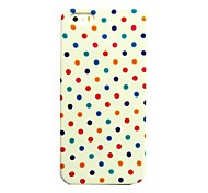 Colorful Spots Pattern Hard Case for iPhone 4/4S