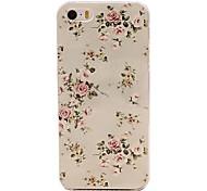 schönen Blumenmuster Prägung PC Hard Case für iPhone 5 / 5s