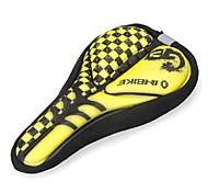INBIKE High Elastic Fabric+GEL Yellow+Black Cycling Saddle Cover