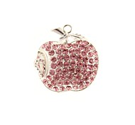 ZP 64gb apple modello rosa diamante bling diamante metallo stile flash drive USB