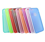 Bicolor Specific Design TPU Soft Case for iPhone 6(Assorted Colors)