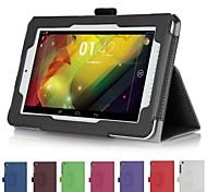 Handschlaufe Lederkasten Abdeckung Kartenmappe Haut für Hewlett Packard HP Slate Tablet 7 Plus 1301