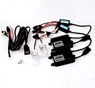 100W 12V H1 AC High Efficiency Hid Xenon Conversion Kit Ceramic Base Bulbs 6000K