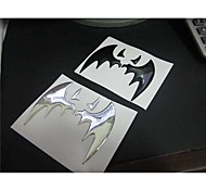 Soft Personality Bat Car Flag Sticker.