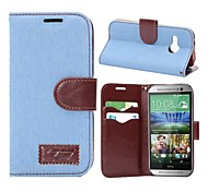 Vintage Cowboy Holster Full Body Case with Card for HTC One mini (Assorted Colors)