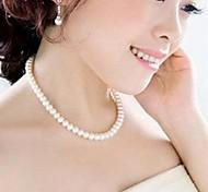 collar de perlas de la moda